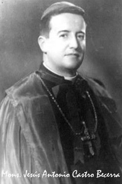 Mons. Jesús Antonio Castro Becerra