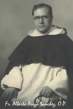 Fray Alberto Epaminondas Ariza Sánchez, O.P.